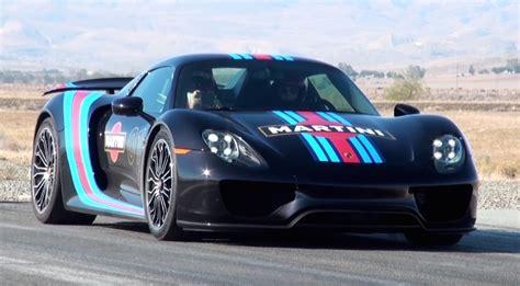 Porsche 918 Acceleration porsche 918 martini acceleration runs