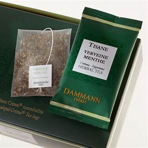 Verveine Plante Tisane : dammann tisane verveine menthe 24 sachets cristal suremball s ~ Mglfilm.com Idées de Décoration