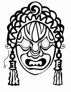 Free Masquerade Mask Stencil  Download Free Clip Art  Free