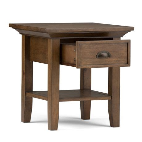 walmart end table with l mansfield end side table walmart ca