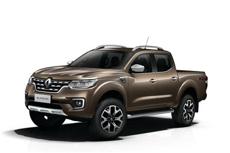 Renault Pulls The Wraps Off New Alaskan Pickup Truck ...