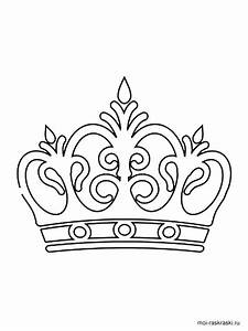 Princess Crown Coloring Page At Getcolorings Com