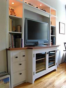 media wall unit houses plans designs With built in media console