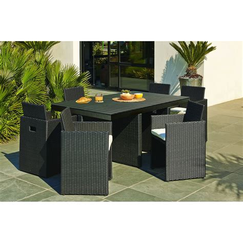 table de jardin chaise encastrable best table ronde de salon de jardin en plastique photos