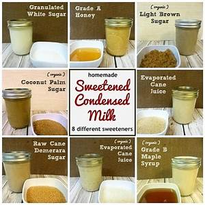 Homemade Sweetened Condensed Milk - One Good Thing by Jillee