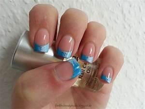 Bilder Mit Glitzer : nageldesign blau silber ~ Jslefanu.com Haus und Dekorationen