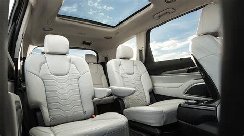 2020 Kia Telluride Ex Interior by 2020 Kia Telluride Look Going Bigger Motor Trend