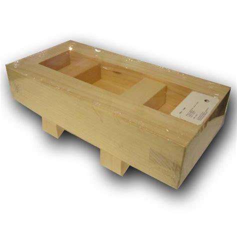 materiel cuisine professionnelle grand moule en bois pour les oshizushi ou sushi pressé