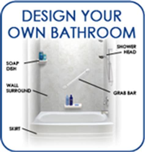 design your own bathroom renovation bathrooms