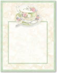 kitchen tea invitation ideas free tea borders afternoon tea stationery letterhead 10608 tea time