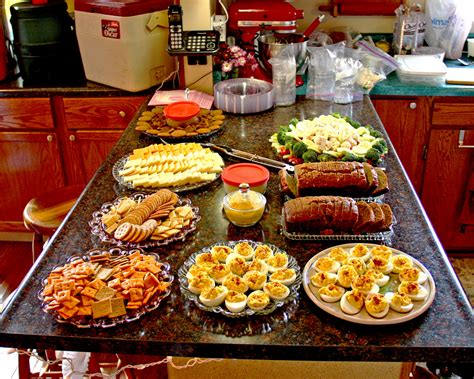 Kitchen Bar Counter Ideas - baby shower food we had snacks laid out for the shower on flickr