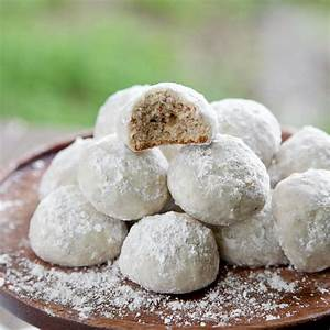Snixy Kitchen's Mexican Wedding Cookies Recipes