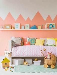 80 astuces pour bien marier les couleurs dans une chambre With couleur mur chambre enfant