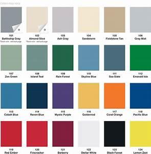 Lyon Lockers Color Chart Lockers