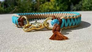 Hunde Sachen Kaufen : hund halsb nder halsband king cobra messing aus paracord ein designerst ck von spuersinn ~ Watch28wear.com Haus und Dekorationen
