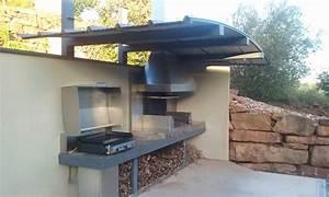 Cuisine D Ete Extérieure : cuisine dete exterieure design ~ Carolinahurricanesstore.com Idées de Décoration