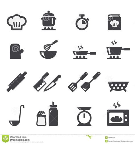 symbole cuisine cuisson de l 39 icône illustration de vecteur image 51440698