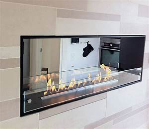 Decoflame Montreal 2 Sided Recessed Manual Ethanol