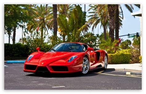 Red Ferrari Enzo Supercar 4k Hd Desktop Wallpaper For 4k
