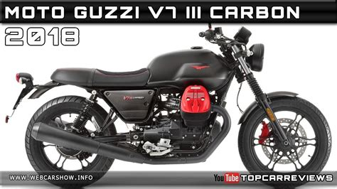 Review Moto Guzzi V7 Iii by 2018 Moto Guzzi V7 Iii Carbon Review Rendered Price Specs