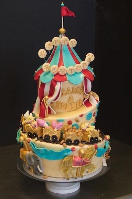 circus birthday party cake ideas spaceships  laser