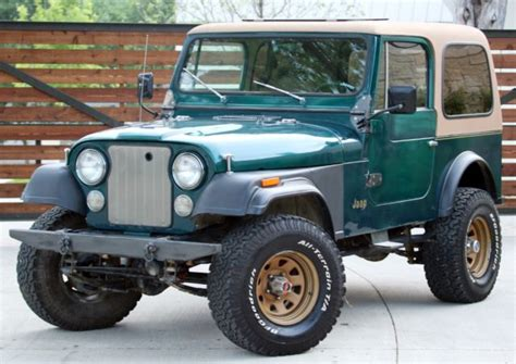 jeep cj cj cj  golden eagle  sale