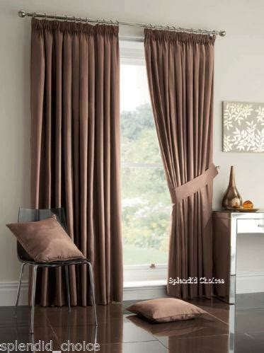 Bedroom Curtains by Lined Bedroom Curtains Ebay