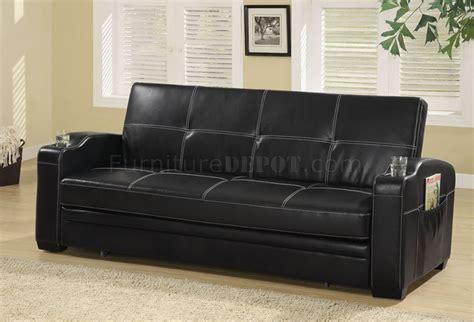 white vinyl sectional sofa black vinyl modern sofa bed convertible w white stitching