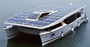 Solar Powered Catamaran
