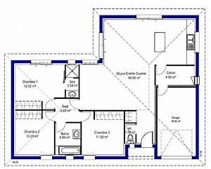 amanda maisons lara With modele de plan maison 17 cuisine montana
