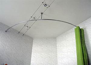Bad Vorhang Stange : runde duschvorhangstange f r viertelkreis badewanne ~ Michelbontemps.com Haus und Dekorationen