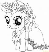 Pony Pages Scootaloo Coloring Printable sketch template