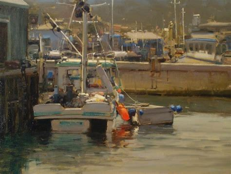 Monterey Boats Ct by Featured Artist Brian Blood Artfoodhome
