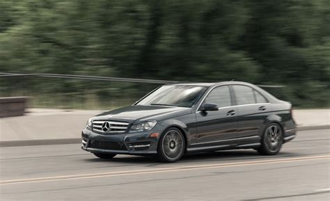 Vehicle has an existing warranty trim: 2013 Mercedes-Benz C300 4MATIC Sedan Test | Review | Car and Driver