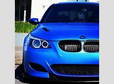 Beauty in blue Matte Blue BMW M5 Luxury Car Lifestyle