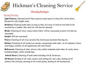 hickman s cleaning service power point presentation 2013