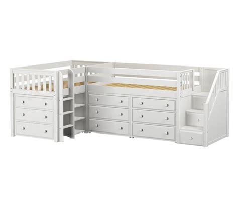 maxtrix tandem corner  loft bed  drawers shop