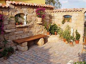 krautergarten garten terrasse oder als beet wohnen With französischer balkon mit sichtschutzmauern im garten