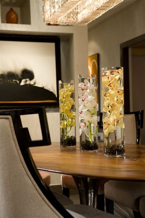 gallery of stylish centerpieces for dining room table fabulous artificial wedding centerpieces decorating ideas