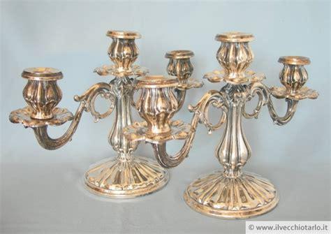 candelieri in argento candelieri antichi argento 800