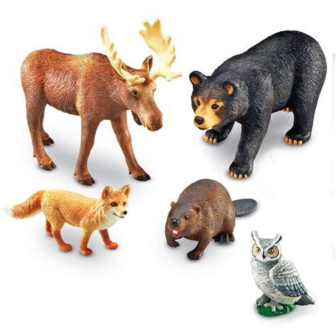 Lielizmēra Meža Dzīvnieku figūriņas - Jumbo Forest Animals | kods # LER0787 | bērniem 3-10g ...