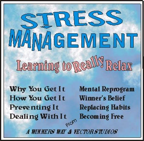 stress management relax  great