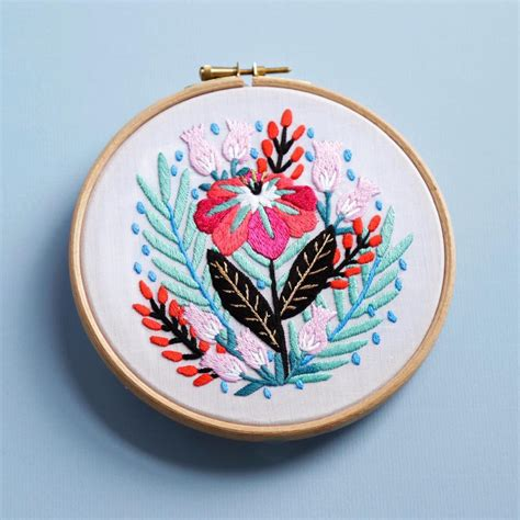 hand embroidery patterns  dmc