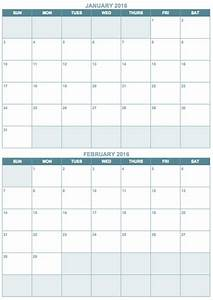 free blank calendar templates smartsheet With double month calendar template