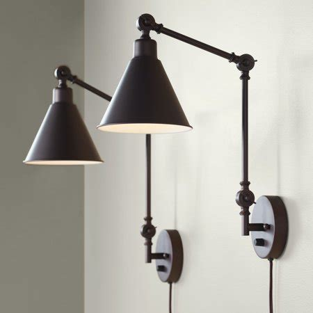 360 lighting modern industrial up down swing arm wall
