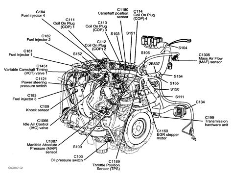 2006 Ford 3 0 V6 Engine Diagram by Need The Location Where Is The Map Sensor Located On A