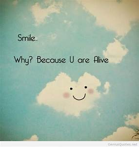 Smile love quote instagram