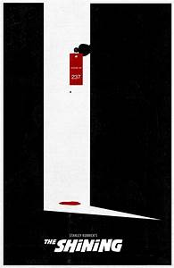 The Shining - minimalistic movie posters   Stanley Kubrick ...