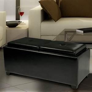 Home Loft Concept : home loft concept powell leather tray ottoman reviews wayfair ~ A.2002-acura-tl-radio.info Haus und Dekorationen