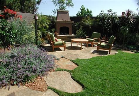 landscaping a large yard backyard landscaping pictures and ideas